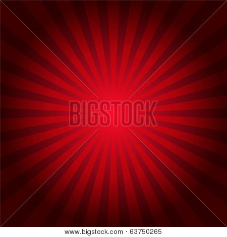 Red rays texture background illustration
