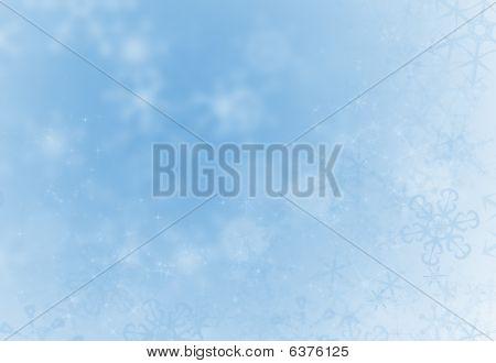 Holiday Snowflake Background