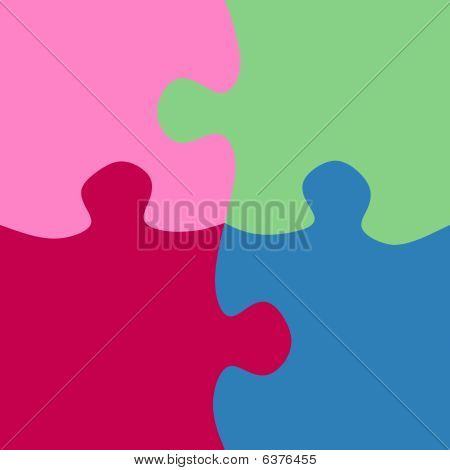 Square Jigsaw Pieces