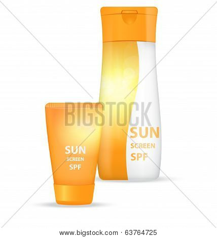 Sunblock body lotions