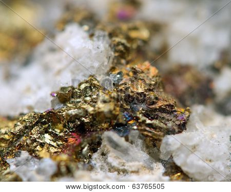 Fantastic Background, Magic Of A Stone, Gold Metal (big Collection)