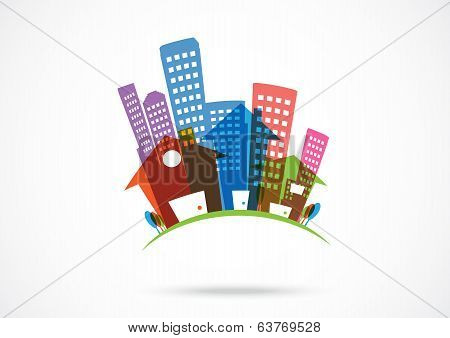 Abstract real estate Icon