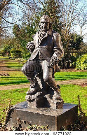 Erasmus Darwin statue, Lichfield.