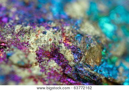 Fantastic Background , Magic Of A Stone. Metal, Crystal (big Collection)