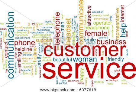 Customer Service Word Cloud