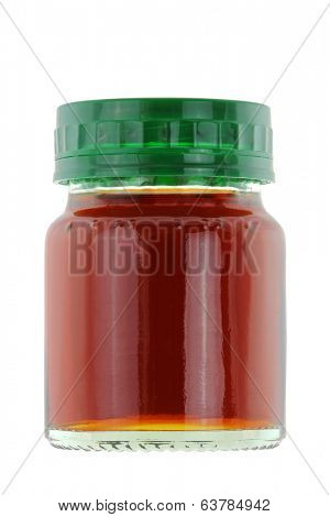 A bottle of Chicken Essence isolated on white