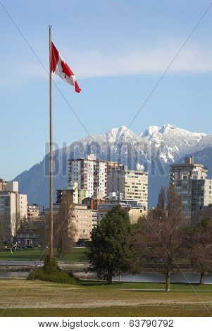 Canadian Flag, Vancouver