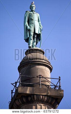 Duke Of Wellington Statue In Liverpool