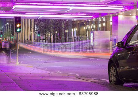 Purple Road Underpass