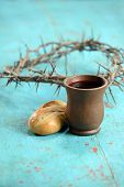 picture of communion-cup  - Bread - JPG