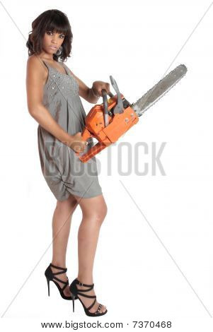Killer Date Chainsaw Lady