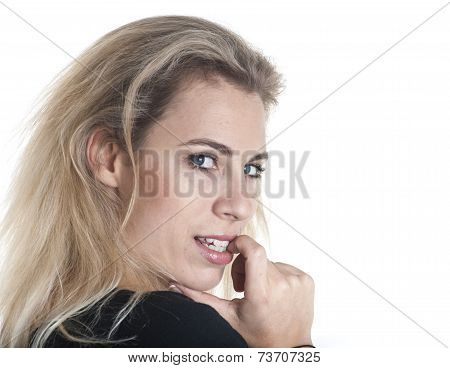 German Woman Portrait