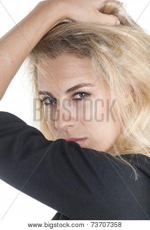 Charming Woman Portrait