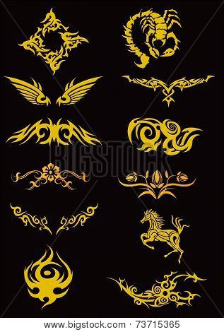 Cool Tatoo Vector Set