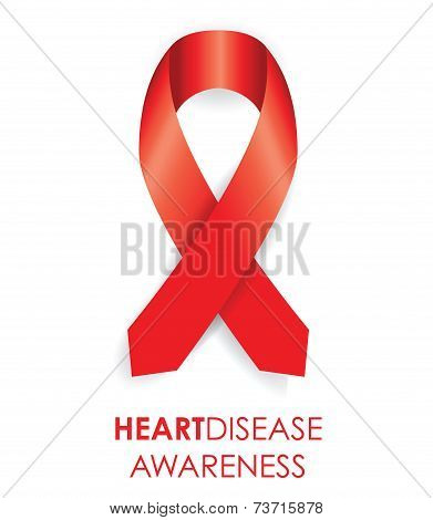 heart disease ribbon
