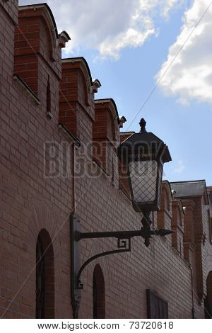 Wall Of The Moscow Kremlin