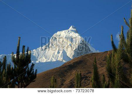 Huandoy South, Cordillera Blanca, Peru.