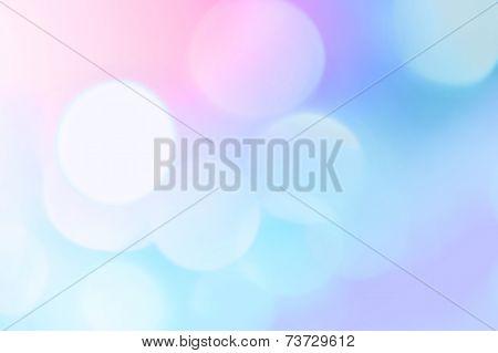 Beautiful Soft Bokeh Lights In Pastel Colors