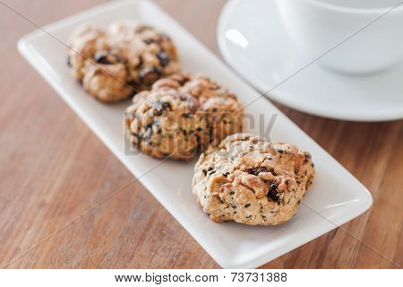 Coffee Break With Healthy Cookies