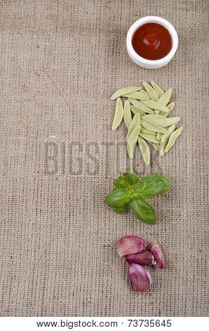 Home Made Pasta From Durum Wheat