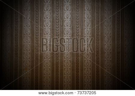 Brown background with a pattern
