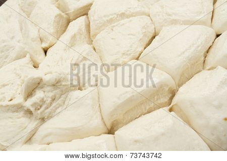 Making of bakery products in bakery shop