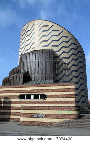 The Tycho Brahe Planetarium , Copenhagen, Denmark.