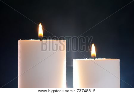 Two Candles And Aura