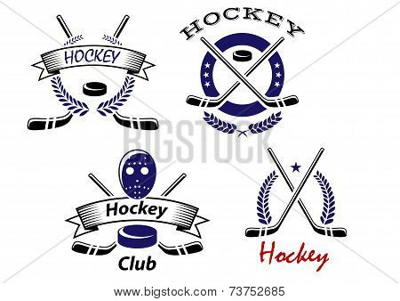 Hockey Club and team emblems