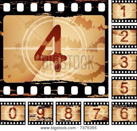 film countdown set