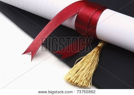 A university diploma