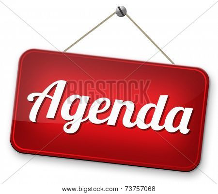 agenda daily timetable and business schedule organizing and planning time use for meetings and organize organization