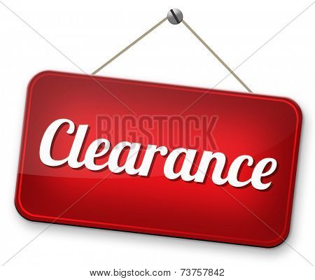 clearance grand sale stock summer or winter sales and reduced prices % off authorization granted or denied by bill computer and information security