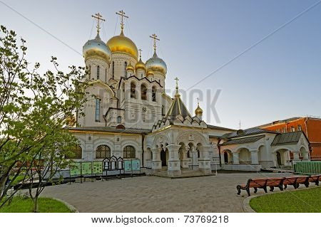Nativity Of The Blessed Virgin Cathedral In The Conception Convent In Moscow