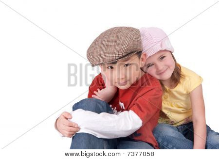 Little Boy und girl