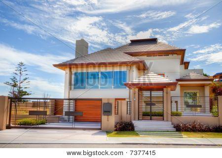 Unusual Modern Designed House
