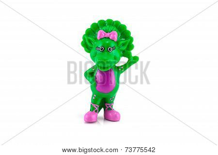 Baby Bob Green Dinosaur Figure Toy.