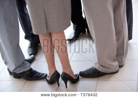Kreis der Füße