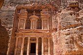 foto of petra jordan  - Al Khazneh in Petra - JPG