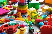 foto of child development  - colorful children - JPG