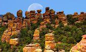 Chiricahua National Monument Moon poster