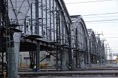 foto of leipzig  - Detail of the train stations of Leipzig - JPG