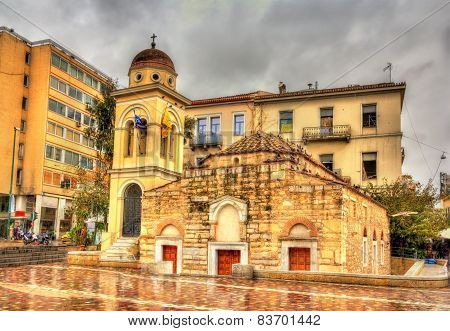 Church Of The Pantanassa In Athens - Greece