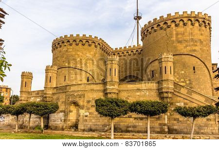 Bab Al-azhab, Former Main Gate Of The Citadel - Cairo, Egypt