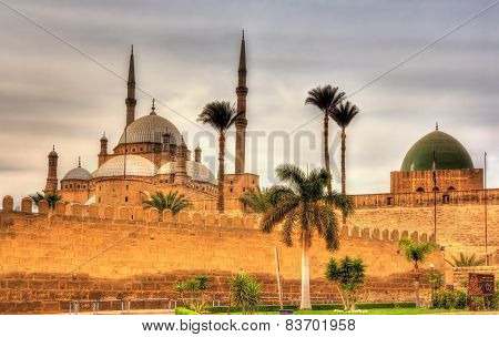Citadel Of Sultan Saladin Al-ayyuby In Cairo - Egypt