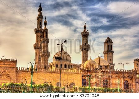 Al-azhar Mosque In Cairo - Egypt