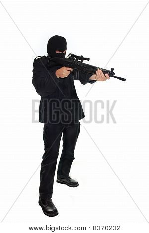 Terrorist with Assault Rifle