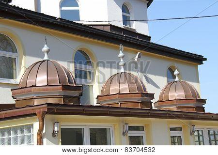 Mosque In Rotolj, Kiseljak Near The Capital Of Bosnia And Herzehovina