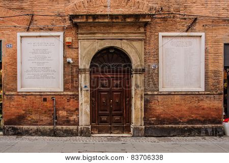 Synagogue, Ferrara