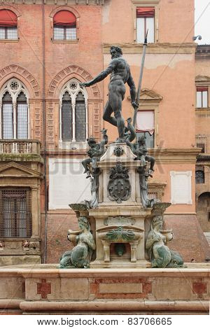 The Fountain Of Neptune, Bologna